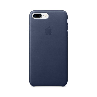 Apple iPhone 7 Plus Leather Case - Midnight Blue