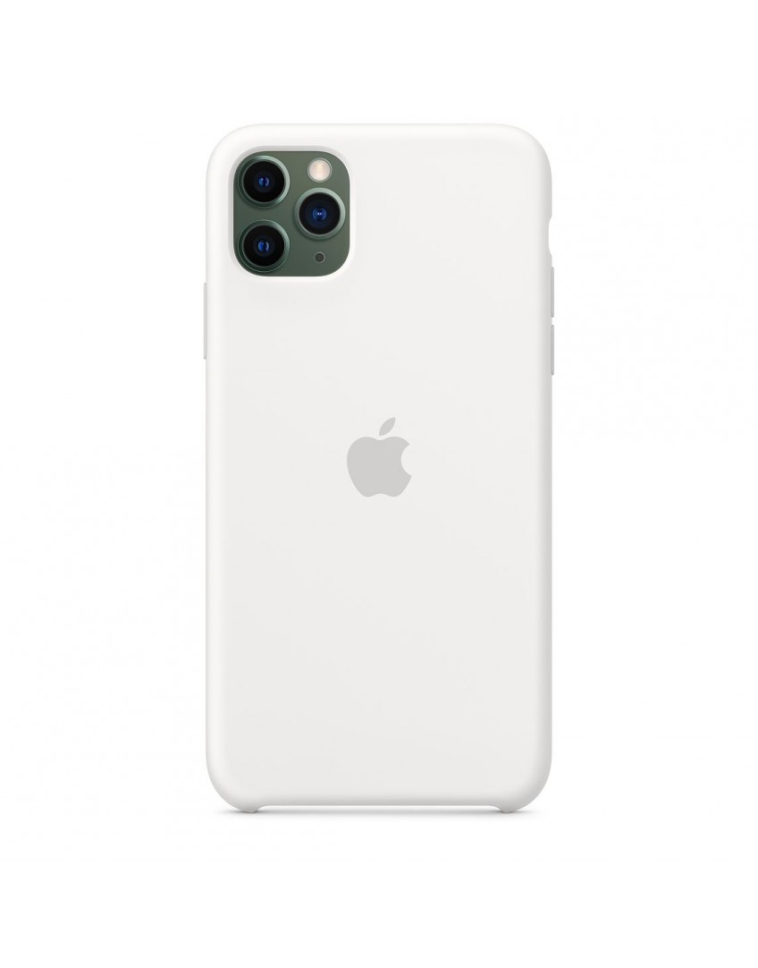 Apple iPhone 11 Pro Max Silicone Case - White