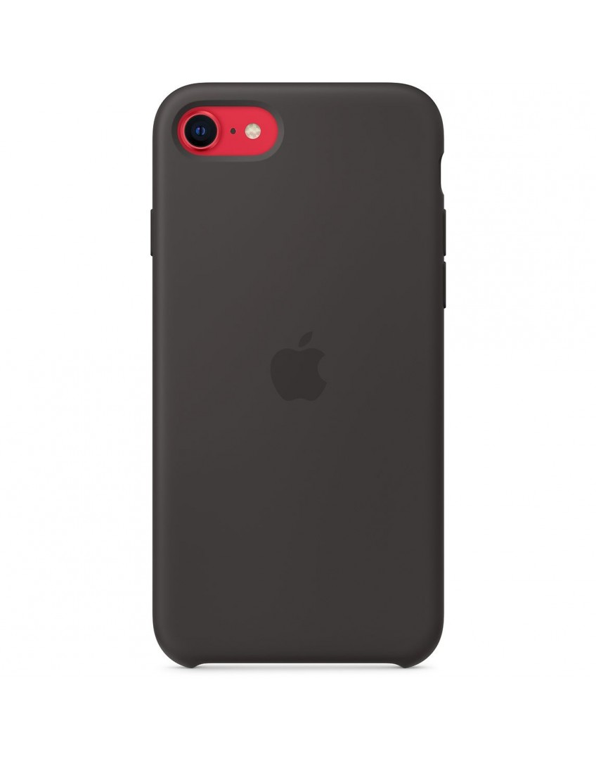 Apple iPhone SE2 Silicone Case - Black